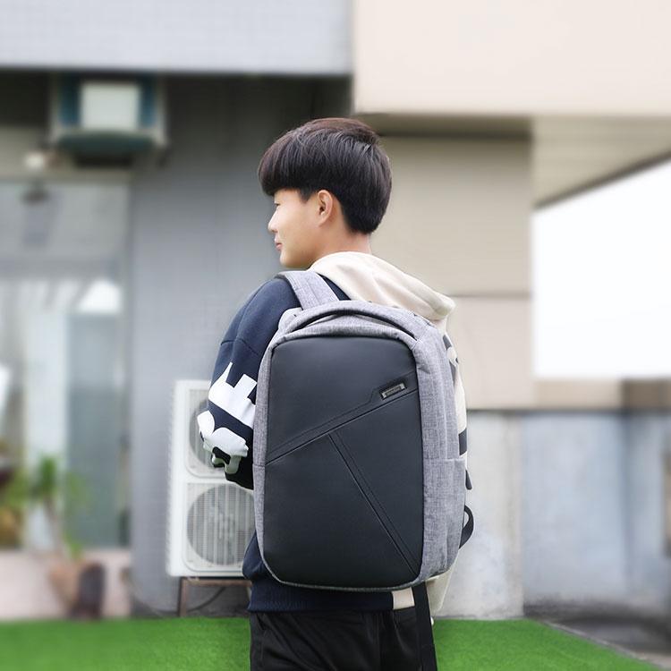 男士电脑双肩包 背包工厂 恩典科技 OEM定制  时尚背包